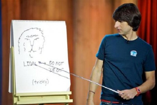 Demetri Martin - Jokes With a Guitar and Drawings (Video) | Third Monk