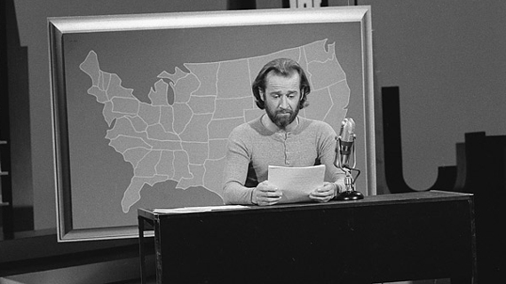 George Carlin - Voting is Pointless, Politics is a Game of Garbage In, Garbage Out (Video)   Third Monk