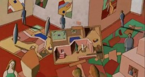 Jeu, A Psychedelic Animation On Multiple Dimensions and Changing Perspectives (Video) | Third Monk