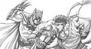 Street Fighter Artist, Jog Ng Pencil Sketch Art Gallery | Third Monk image 8