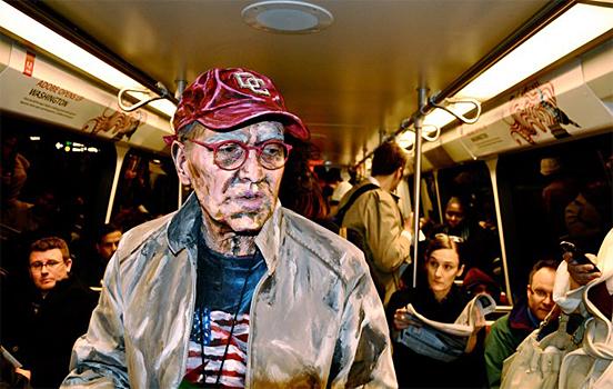 Incredible Living Paintings, Alexa Meade Art Gallery | Third Monk image 2