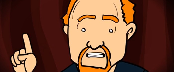 Louis C.K. - If God Came Back, Animation (Video) | Third Monk