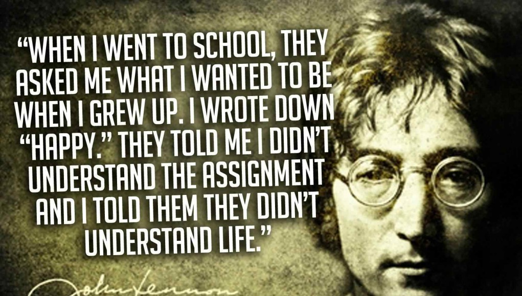 John Lennon Quotes - Thoughts From A Psychedelic Mind   Third Monk image 9