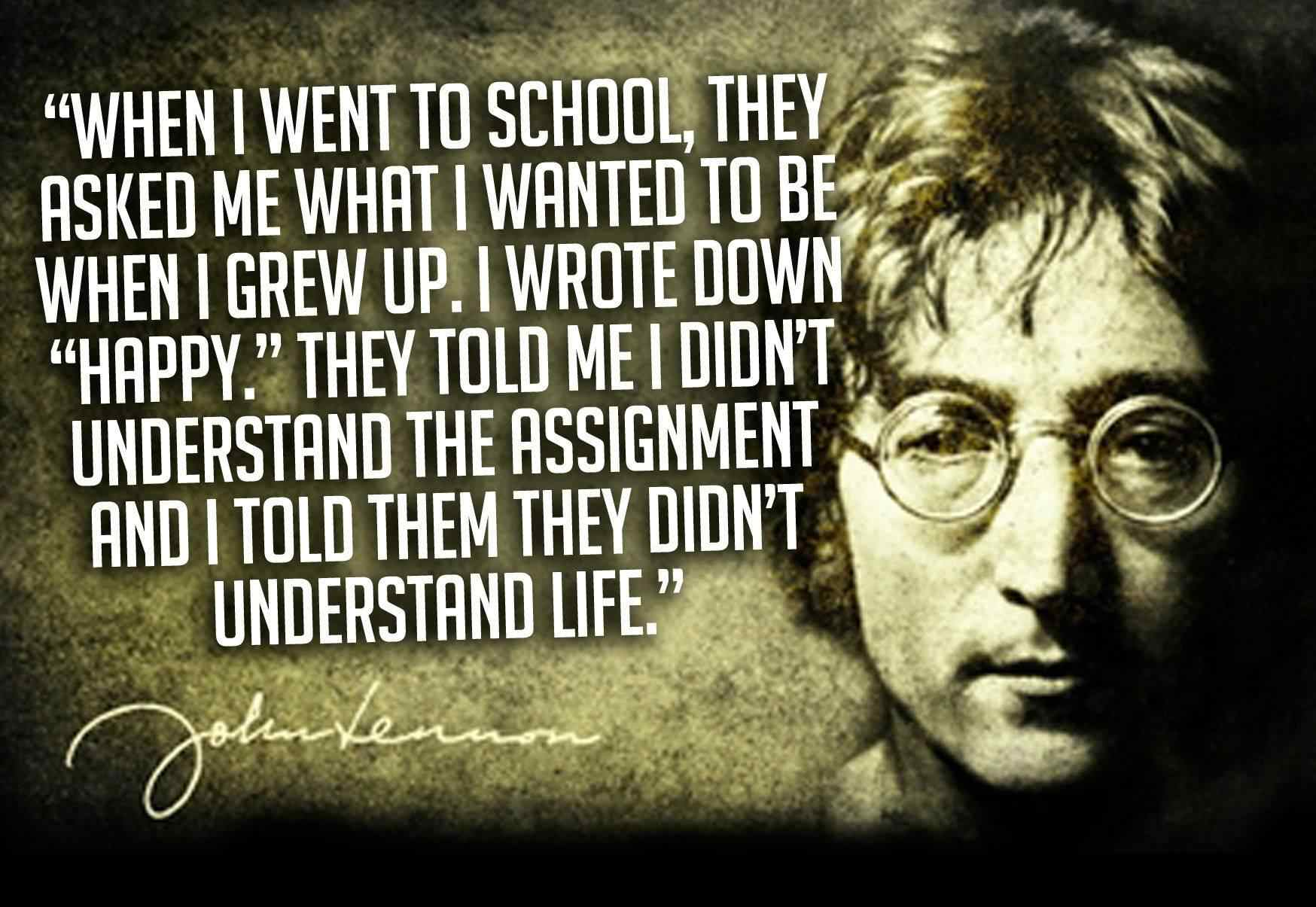 John Lennon Quotes Thoughts From A Psychedelic Mind