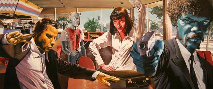 Incredible Movie Paintings, Justin Reed Art Gallery | Third Monk image 9
