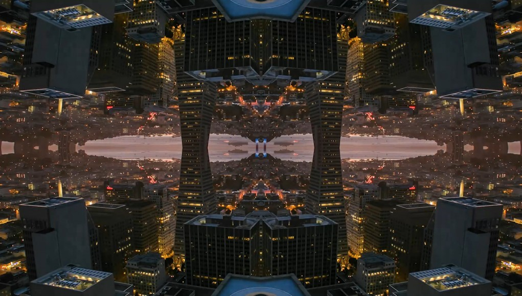 Mirror City - Amazing Psychedelic Timelapse of Kaleidoscopic Cityscapes (Video)   Third Monk image 2
