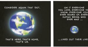 Carl Sagan - Pale Blue Dot (Comic Strip) | Third Monk image 2