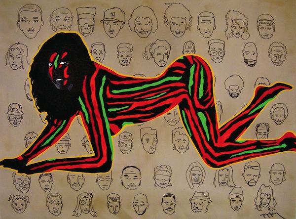 TTK Hip Hop Paintings, Surreal Art Gallery   Third Monk image 10