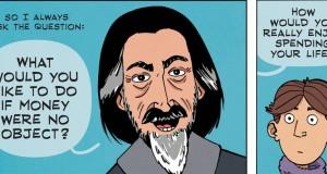 Alan Watts - What Do You Desire? (Comic Strip) | Third Monk image 2
