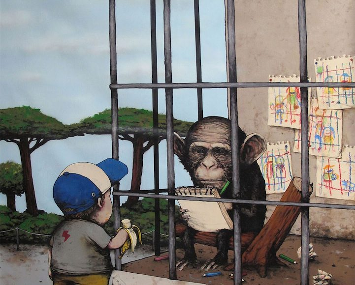 Dran - The French Banksy, Art Gallery | Third Monk image 37