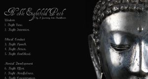 The Buddhist Guide to a Happy Life: The Noble Eightfold Path  | Third Monk image 1