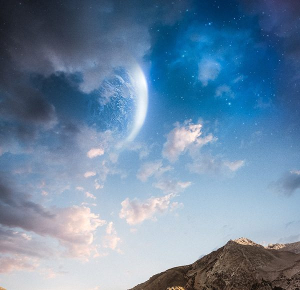 Unrealistic Scenes: Bizarre Star-Studded Landscapes   Third Monk image 1