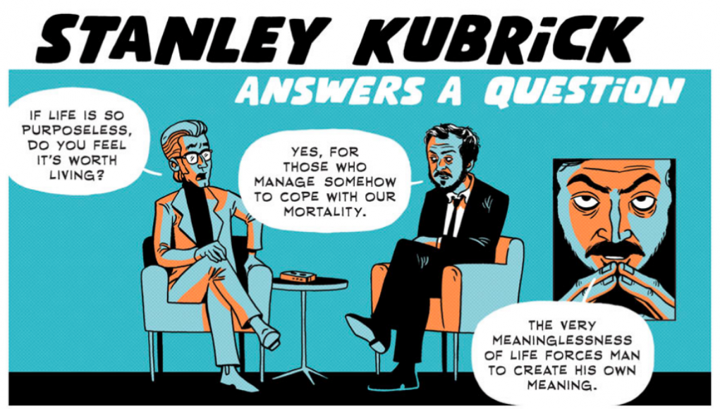 Kubrick's Answer - The Beauty of a Meaningless Life (Comic Strip) | Third Monk image 2
