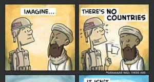 John Lennon Imagine Comic Strip By Pablo Stanley (Video) | Third Monk image 2