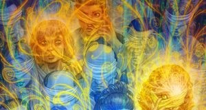 Psychedelic Watercolor Paintings, Guillem Mari Art Gallery | Third Monk image 8