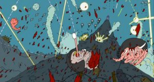 Insane Psychedelic Snowball Fight From Adult Swim's Superjail! (Video) | Third Monk image 2