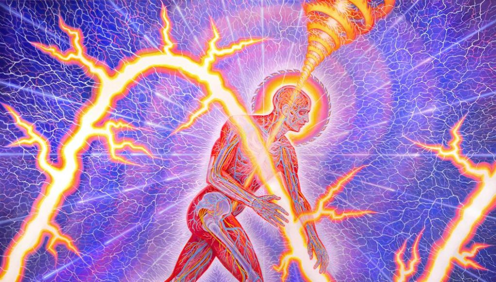 Snap Shots of The Psychedelic Realm and Ego Death - Alex Grey | Third Monk image 2
