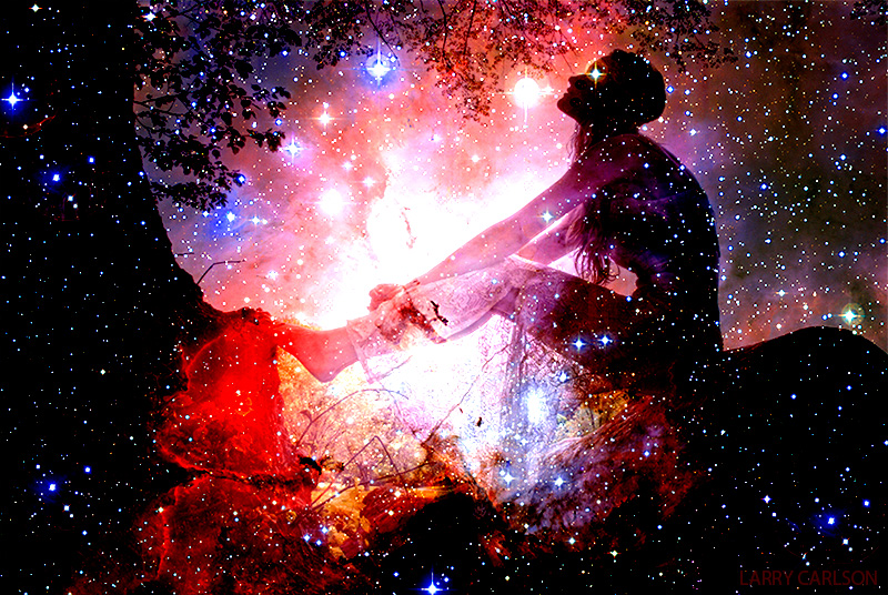 Psychedelic Dimensions of Consciousness, Larry Carlson Art Gallery | Third Monk image 5