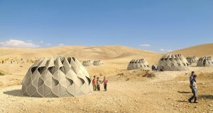 Weaving a Home: Collapsible Woven Refugee Shelters | Third Monk image 17