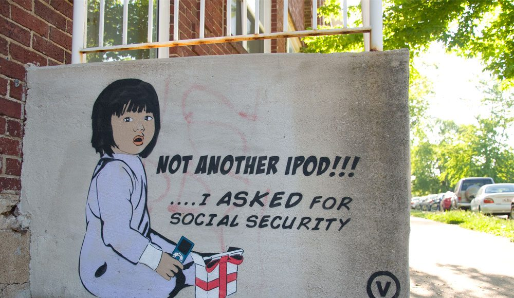 Vinchen: Social Commentary From Ohio's Best Street Artist (Art Gallery)   Third Monk image 21