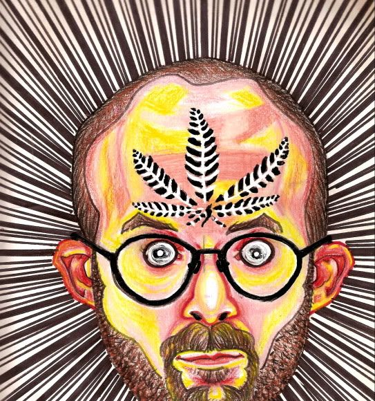 Artist Draws Psychedelic Self-Portraits While On Different Drugs (Gallery) | Third Monk image 17